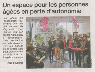 Ouest france 2017 11 10 1 inauguration alois